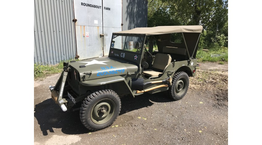Fully Restored Script Ford GPW For Sale