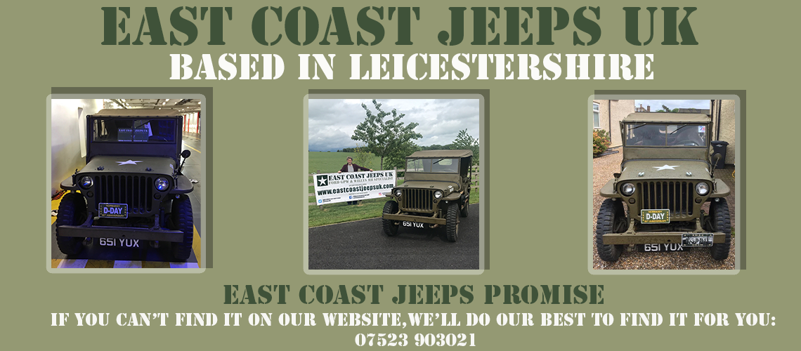 East Coast Jeeps UK Parts Promise