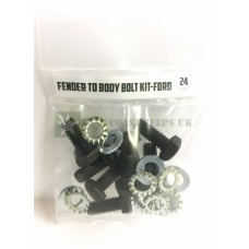 Ford GPW Fender to Body Bolt Kit -ECJ/FTBBK/2