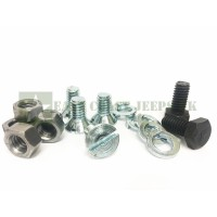 Ford GPW Top Bow Bracket Bolt Kit -ECJ/TBBBK/1