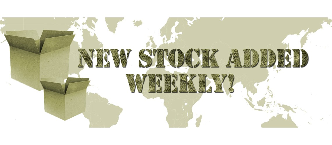 New Stock Added Weekly