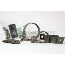 Muffler Clamp Kit -Early Rounded - WO-A8401(E)