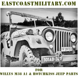 East Coast Military for Hotchkiss & M38A1 Parts